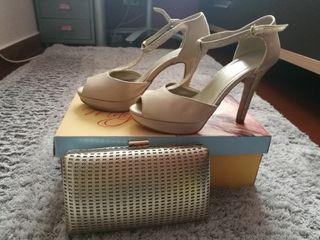 zapatos talla 36y bolso