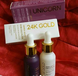24k gold heres b2uty+makeup Primer Serum