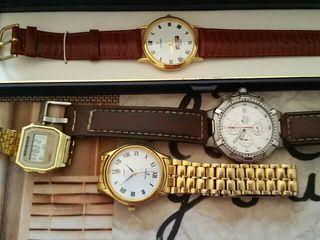 relojes nuevos y usados lote