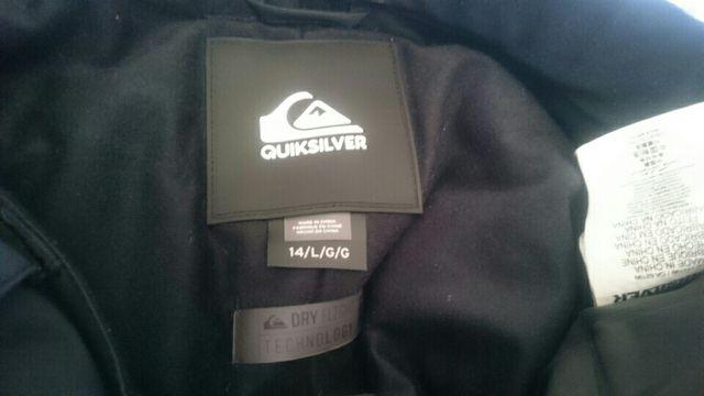 Chaqueta y pantalon nieve snow Quiksilver