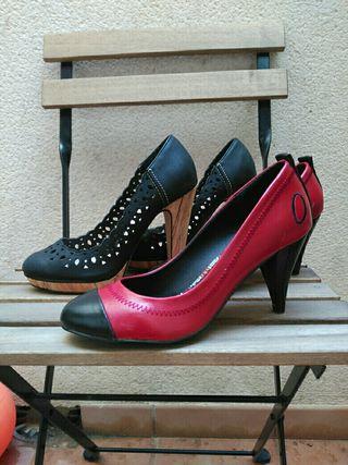 Dos pares de zapatos n35
