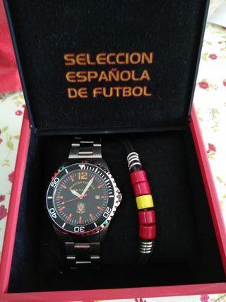 Reloj oficial SELECCIÓN ESPAÑOLA DE FÚTBOL