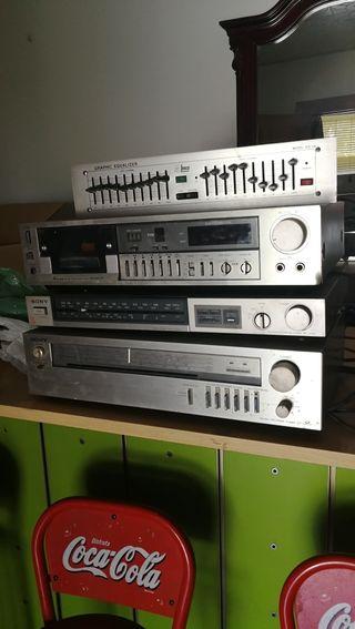 aparatos de sonido antiguos