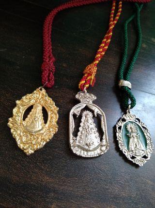 Medallas Virgen Rocío Bautizadas