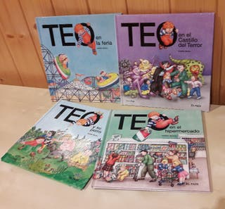 Lote libros infantiles TEO