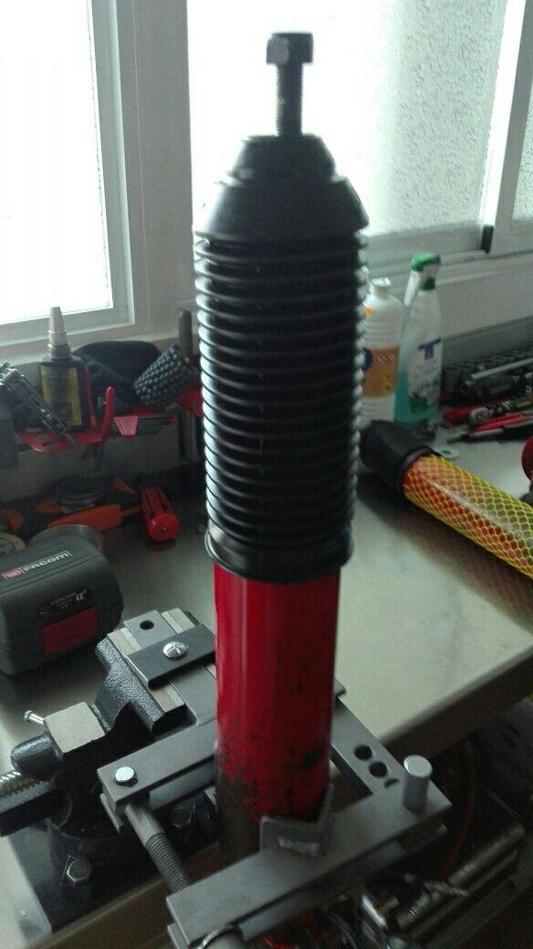 Reparacion de amortiguadores Koni Heavy Track Raid