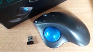 Raton Mouse Logitech Trackball M570