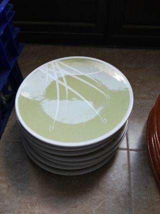 Lote de 7 platos y cuencos del ikea