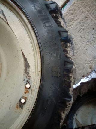 ruedas estrechas tractor