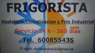 Tecnico Frigorista 24h/365 dias