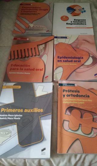 libros de segundo de higiene bucodental