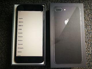 iphone 8 plus 64gb color Negro