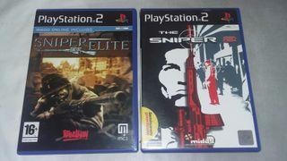 sniper elite y the sniper 2 para ps2