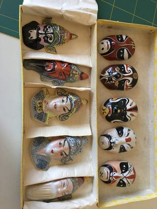 Mascara chinas de Kabuki