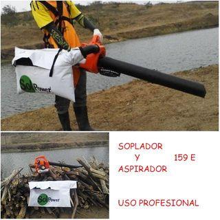 SOPLADOR ASPIRADOR POTENTE DE USO PROFESIONAL