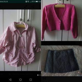 ropa niña variada