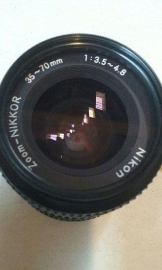 Nikon. objetivo 35 -70mm