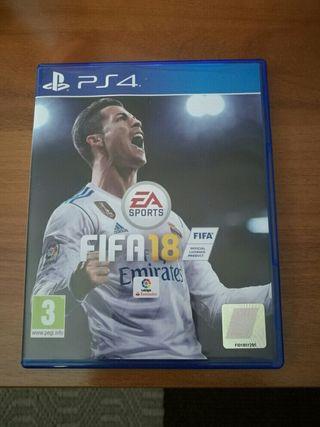 Fifa 2018 sin usar apenas