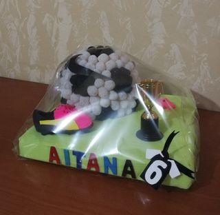 tarta futbol personalizada