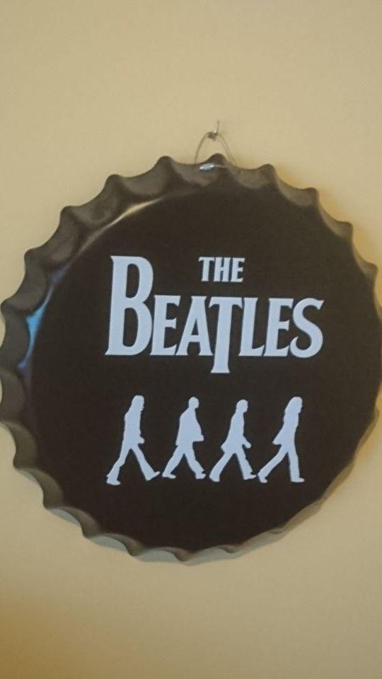 Chapa adorno Beatles