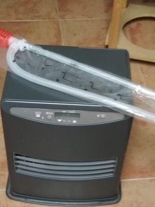 estufa electrica y parafina