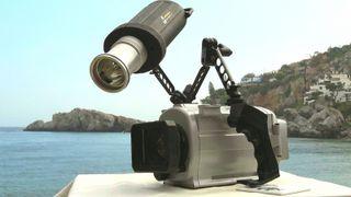 Carcasa y foco AMPHIBICO con Camera SONY