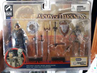 army of darkness figuras descatalogada 1993