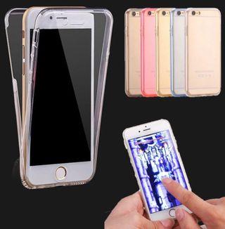 Funda 360 iPhone X 6/7/8 Samsung S8 J5 J7 Huawei