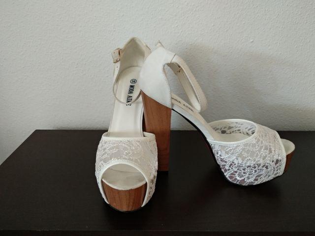 zapatos de novia de segunda mano por 10 € en toledo en wallapop