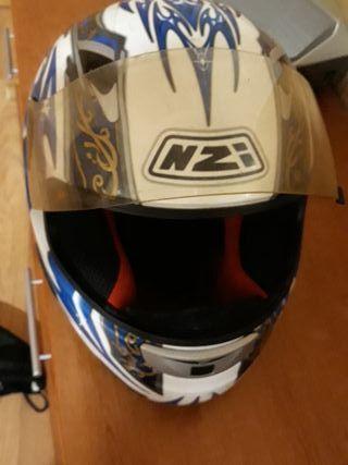 casco de fibra nzi
