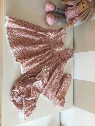 Vestido Tul y Pompon talla 4