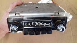 radio coche marconi clasica