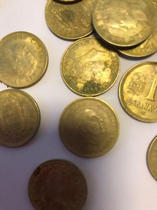 Monedas de peseta de Franco