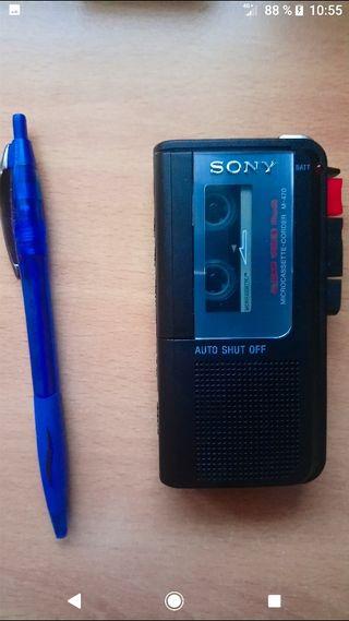 Sony ,mini-grabadora