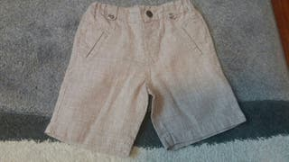 pantalon corto talla 2 años