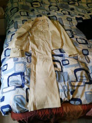 conjunto pantalón y chaqueta mujer TORERO talla 40