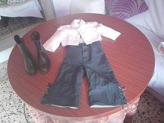 traje de flamenco para niño talla 24 meses y botos
