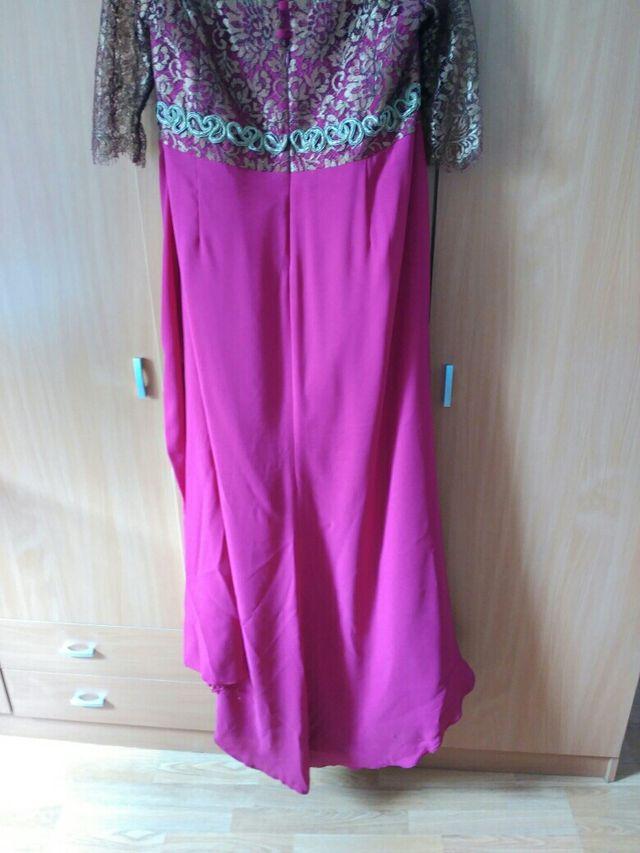Atractivo Vestidos De Fiesta Seminuevo Friso - Colección del Vestido ...