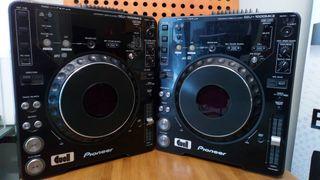 . 2 cd pioneer CDJ-1000 MK3