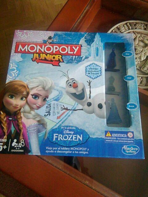 Juego De Mesa Monopoly Junior Frozen De Segunda Mano Por 7 En