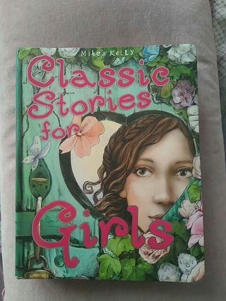 Libro para niñas en inglés