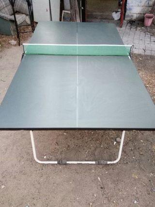 Ping pong mesa plegable de segunda mano por 120 en ciudad real en wallapop - Mesa ping pong plegable ...