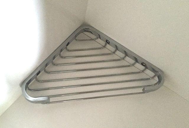 etagere d'angle en inox
