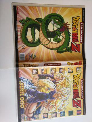 cartas dragon ball lamincard serie oro