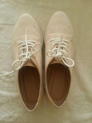 zapatos mujer bershka casi nuevos talla 38