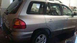 Hyundai Santa Fe 2001 exelente coche con todos su