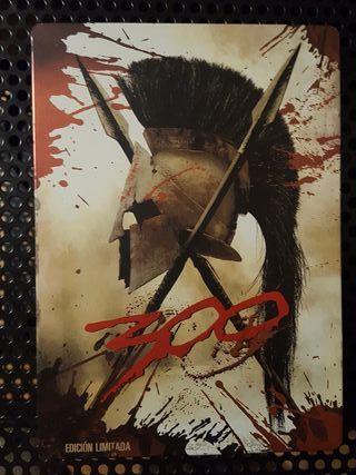 Dvd - 300 Caja metalica - Steelbook