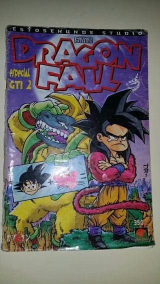 Dragon Fall gti comic manga