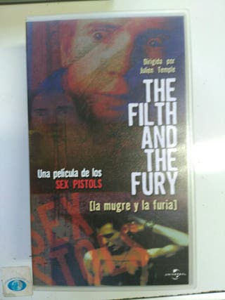 vhs.sex pistols.the filth and the fury