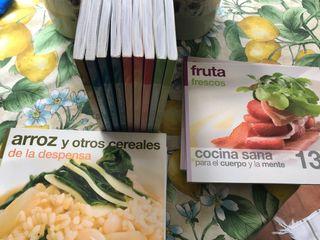 16 libros Cocina sana para cuerpo mente